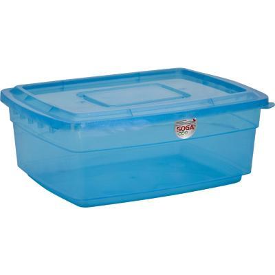 Caja 20 l 33x18x46 cm azul