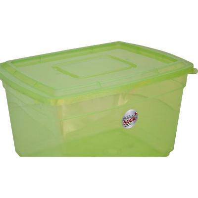 Caja 20 l 33x18x46 cm verde