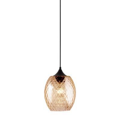 Lámpara colgante Badih beige 1 luz E27