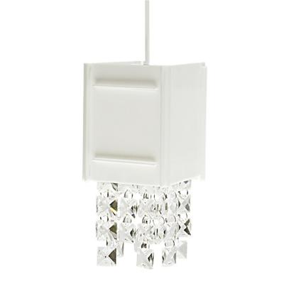 Lámpara colgante Morion blanco 1 luz G9