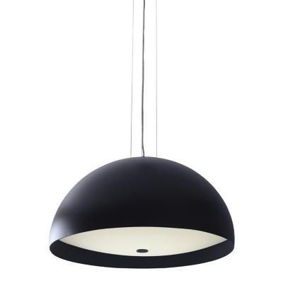 Lámpara colgante Diva Mega negro 2 luces E27