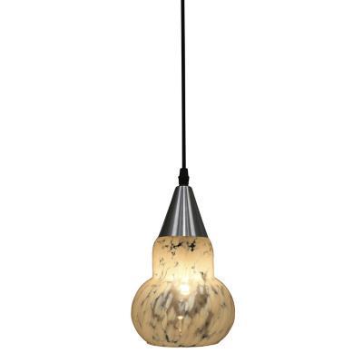 Lámpara colgante Verona beige 1 luz E27