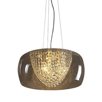 Lámpara colgante Giulia negro 3 luces E27