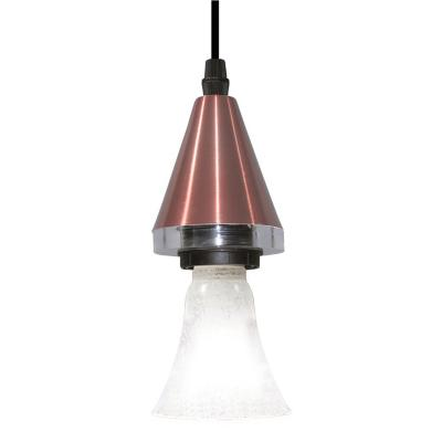 Lámpara colgante Horus Cone cobre 1 luz G9