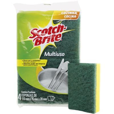 Pack 4 esponjas estándar