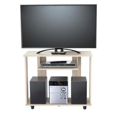 "Rack tv 42"" 68x80x36 cm café claro"