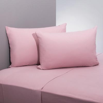 Juego sábanas flannel rosa 2 plazas