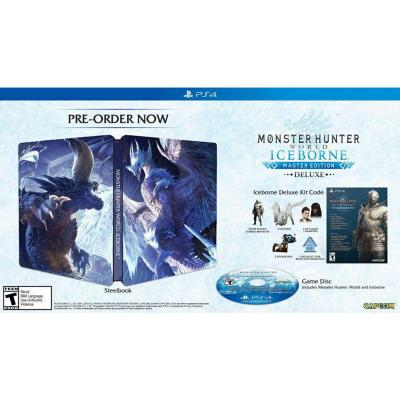 Juego PS4 monster hunter world iceborne mde