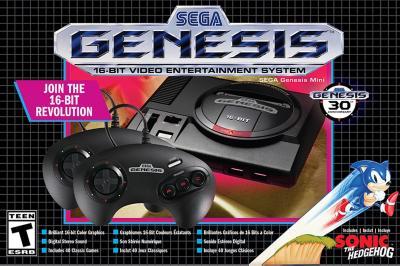 Consola  Sega genesis mini hardware retro console