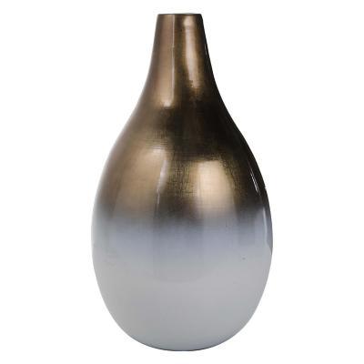 Jarrón decorativo esteco 38 cm Dorado