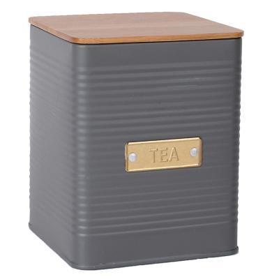 Contenedor acero té gris Acero