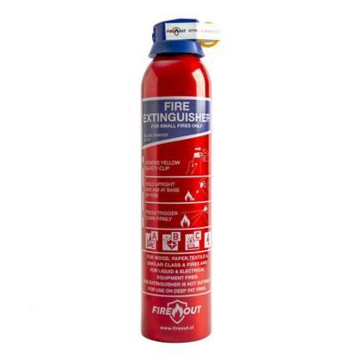 Extintor aerosol portátil ABC