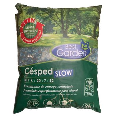 Fertilizante cesped slow saco 2 kg