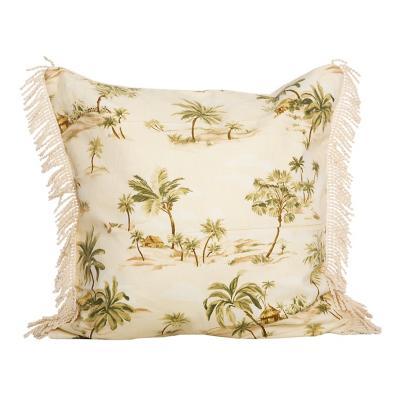 Cojín palmeras 50x50 cm