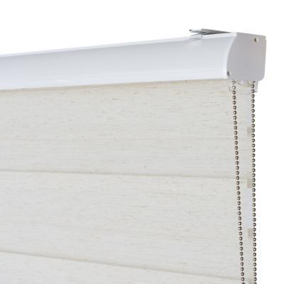 Cortina enrollable sin cenefa 90x165 cm Crema