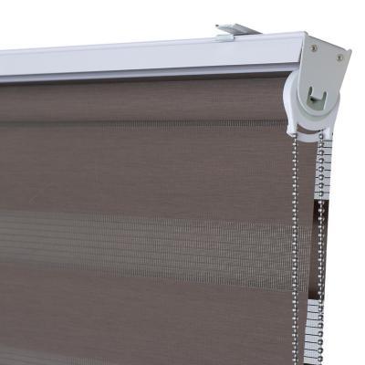 Cortina enrollable sin cenefa 90x250 cm Tostado