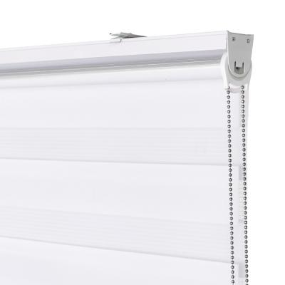 Cortina enrollable sin cenefa 90x250 cm Blanco