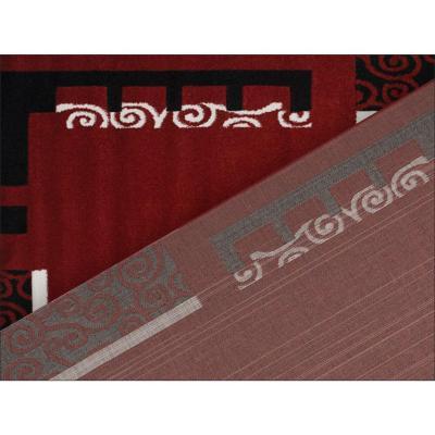 Alfombra frize carved d5 80x120 cm rojo