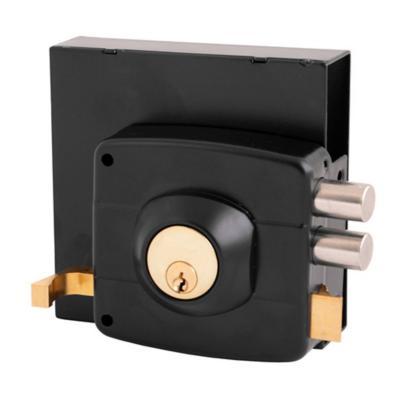 Cerradura sobreponer con caja negra