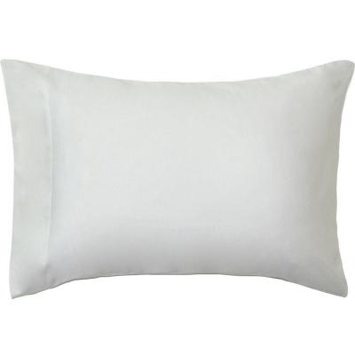 Funda almohada 300 hilos algodón blanco 52x76 cm