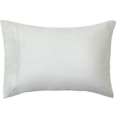 Funda almohada 300 hilos algodón blanco 52x91 cm