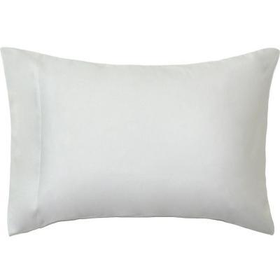 Funda almohada 500 hilos algodón blanco 52x76 cm