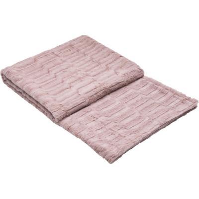 Manta piel 127x152 cm smoothie rosa