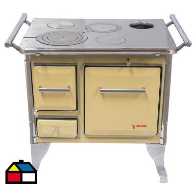 Cocina a leña tradicional 72x56 Amarilla