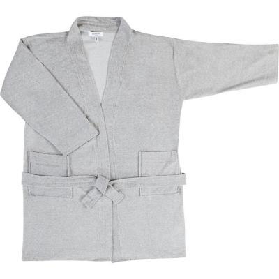 Bata de baño knitted estándar gris