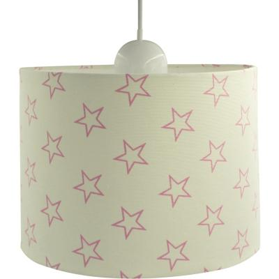 Lámpara colgante infantil 25x19 cm estrellas