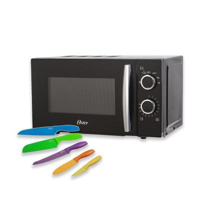 Pack microonda 20 lts + set de cuchillos
