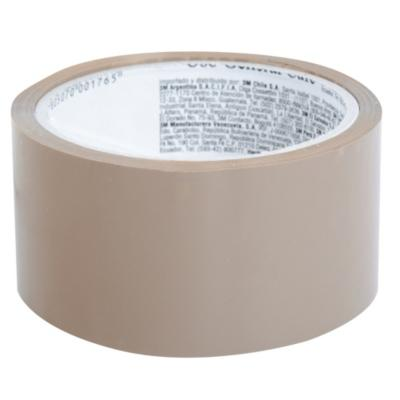 Cinta adhesiva para embalaje café 48 mm 40 m