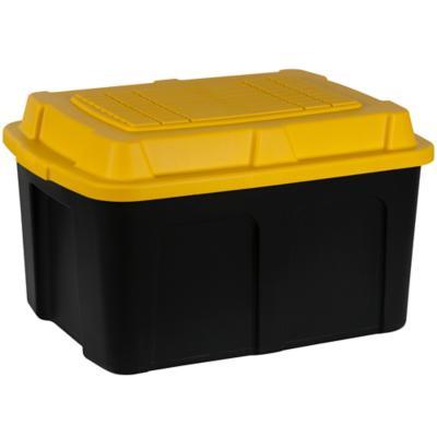 Caja 73 l 62x42x37 cm negro-amarillo