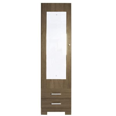 Zapatera con espejo gales 1 puerta 179x48x38 cm