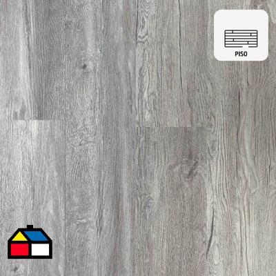 Piso vinilico spc ecowood gris