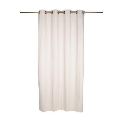 Cortina argollas black out 140x225 cm ivory