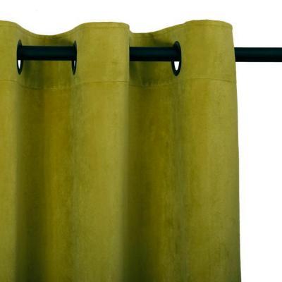 Cortina felpa new velvet 140x220 cm olivo