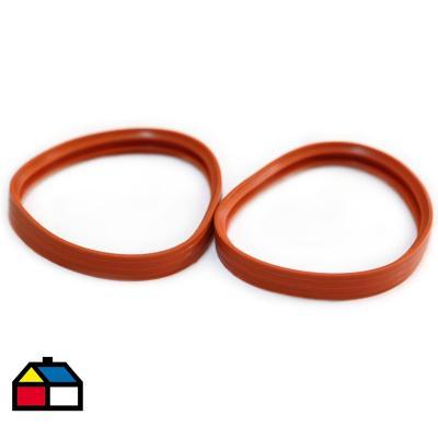 Anillo de silicona a pellet (5 unidades)