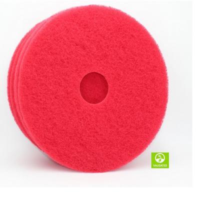 "Disco limpia piso pad 5 unidades rojo 20"""