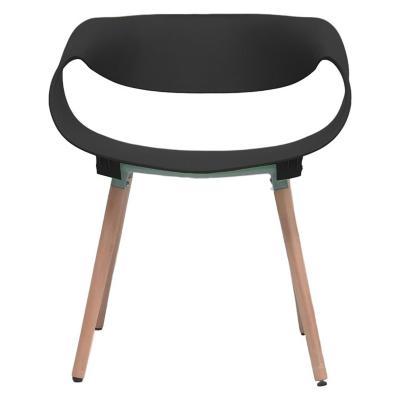 Silla diseño twist 62x54x73 cm negro
