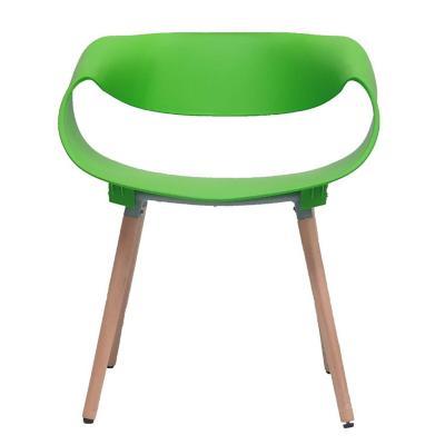 Silla diseño twist 62x54x73 cm verde