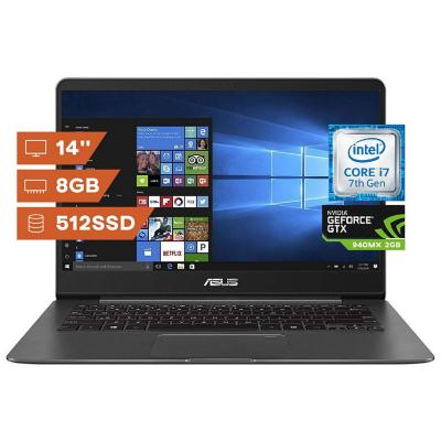 "Notebook Core i7 / 8GB RAM / 512 SSD / 14"" HD"