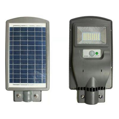 Foco solar alumbrado público 20W con sensor