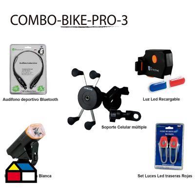 Ciclismo pack intermedio bicolor