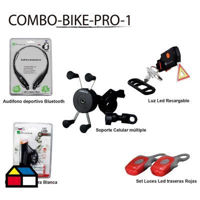 Ciclismo pack intermedio triangulo