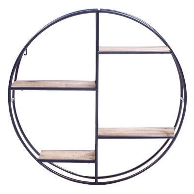 Repisa estocolmo ovalada 60x15x60 cm