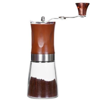 Molinillo de café vidrio 160 ml rojo