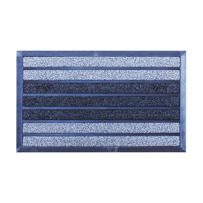 Limpiapiés magnet 45x75 cm gris/negro