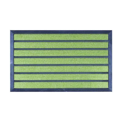 Limpiapiés magnet 45x75 cm verde