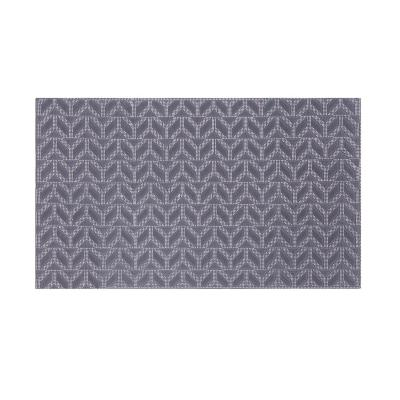 Limpiapiés rubber pium 45x75 cm mosaico silver